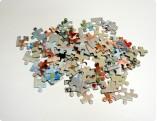 Puzzle rozłożone